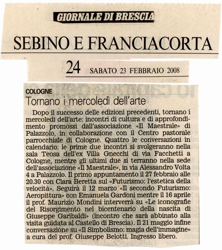 23 febbraio 2008