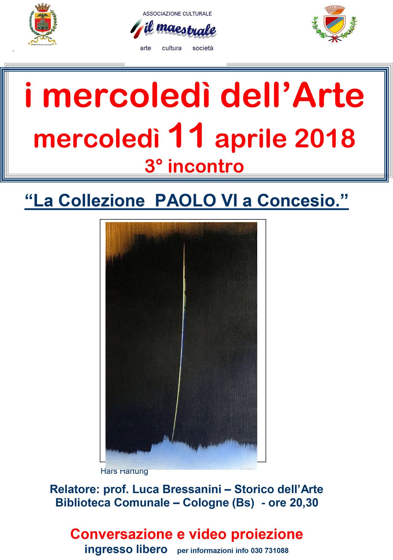 I mercoledì dell'Arte – 3° incontro