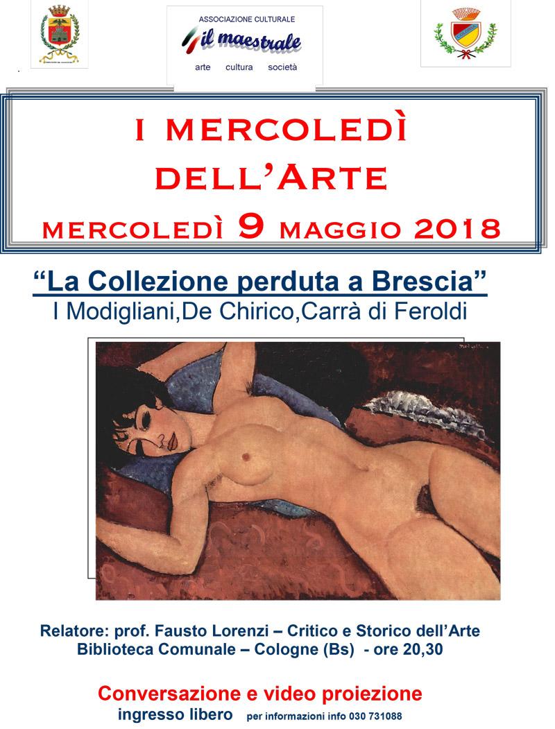 I mercoledì dell'Arte – mercoledì 9 maggio 2018
