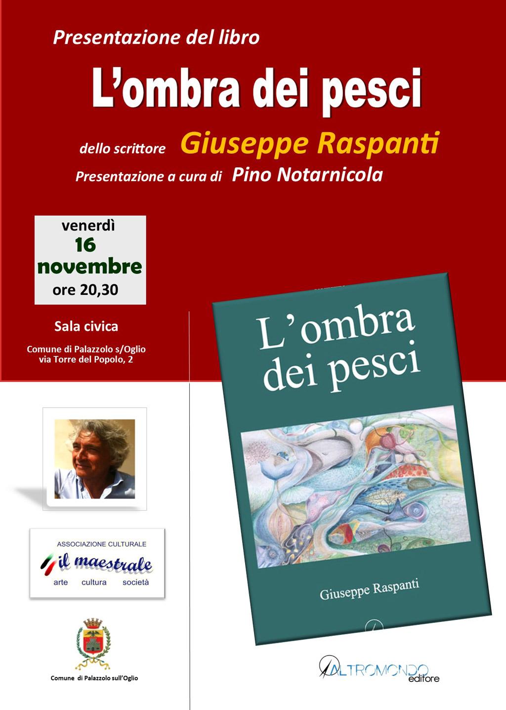 L'OMBRA DEI PESCI: Presentazione del libro di Giuseppe Raspanti