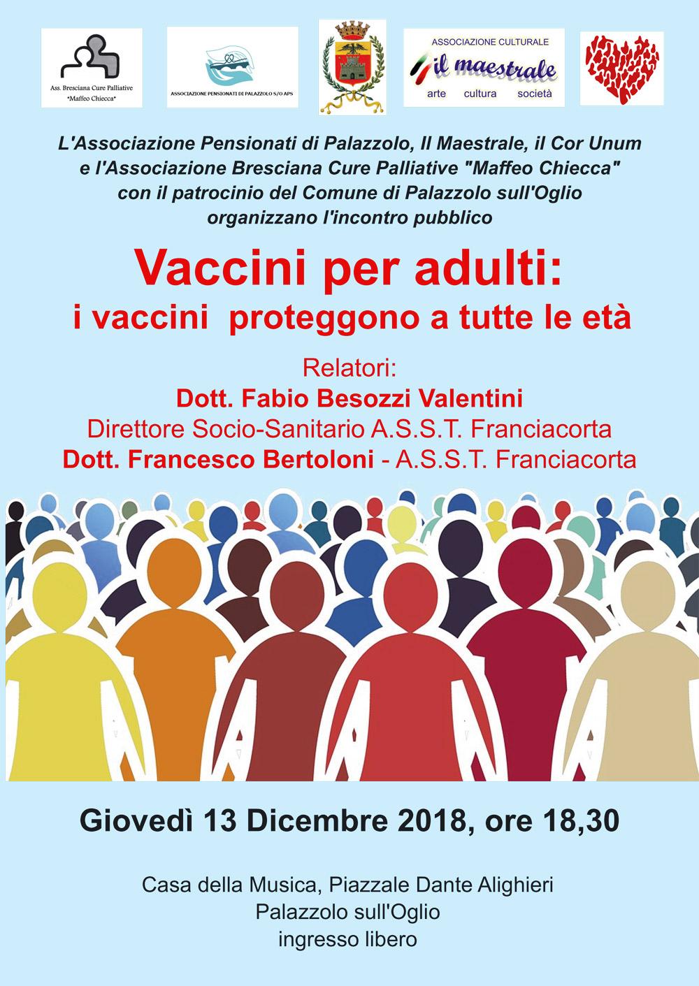 Vaccini per adulti: i vaccini proteggono a tutte le età
