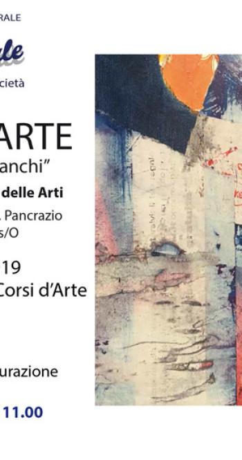 18-19 maggio 2019, Mostra degli allievi dei Corsi d'Arte.