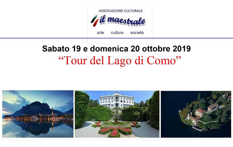 Tour del Lago di Como – 19|20 ottobre 2019