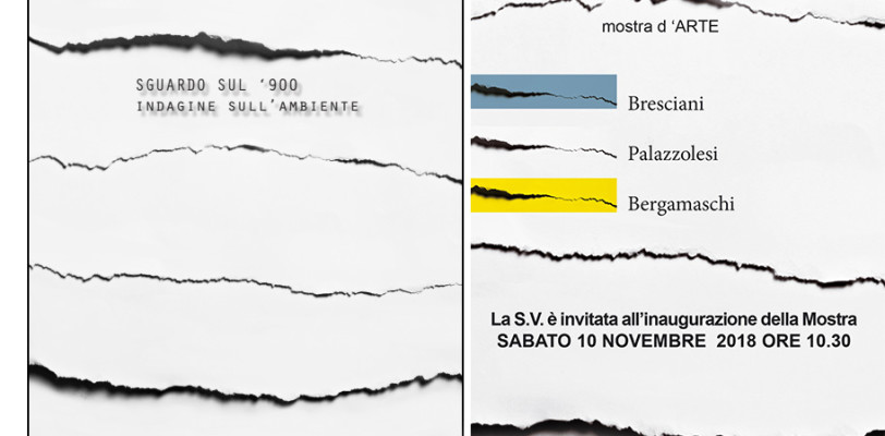 Mostra d'ARTE: SGUARDO SUL '900 indagine sull'ambiente