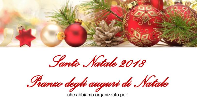 Pranzo degli auguri di Natale 2018