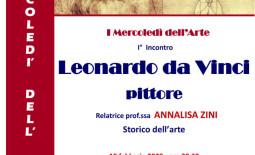 I° – I Mercoledì dell'Arte – Leonardo da Vinci pittore